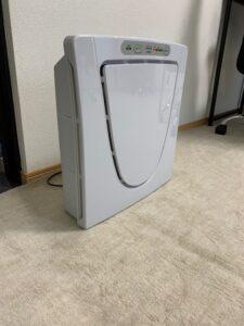 各部屋に一つ空気清浄機